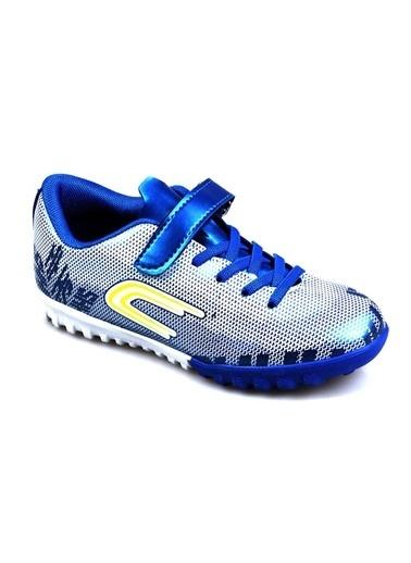 Cool Erkek Çocuk (28-37) Mavi Halı Saha Futbol Ayakkabı Mavi
